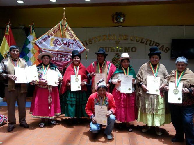 Artesanos Bolivia