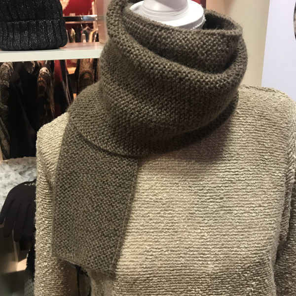 Bufanda alpaca ARMATTA marron