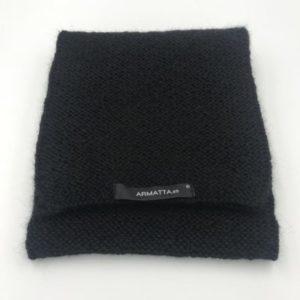 Bufanda alpaca ARMATTA negra