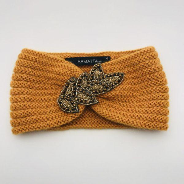 Turbante alpaca ARMATTA naranja