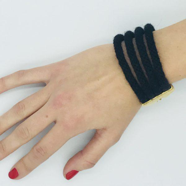 pulsera armatta alpaca negra 2
