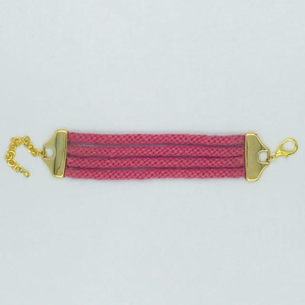 pulsera armatta alpaca rosa 1