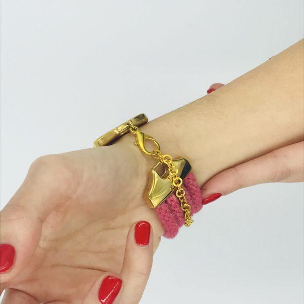 pulsera armatta alpaca rosa 3