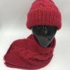 Gorro alpaca ARMATTA rojo bordado